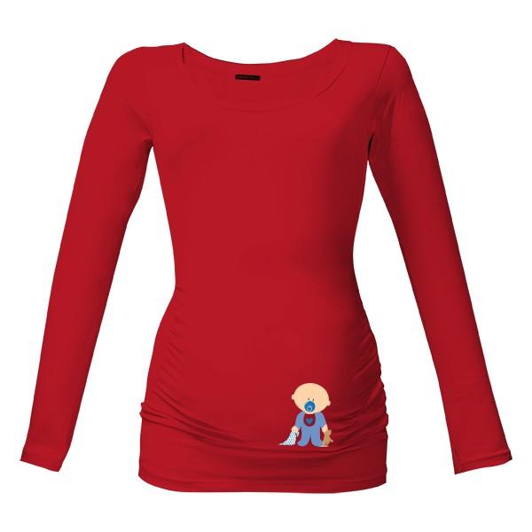 7844622da76 Tričko s potiskem Těhotenské tričko s obrázkem